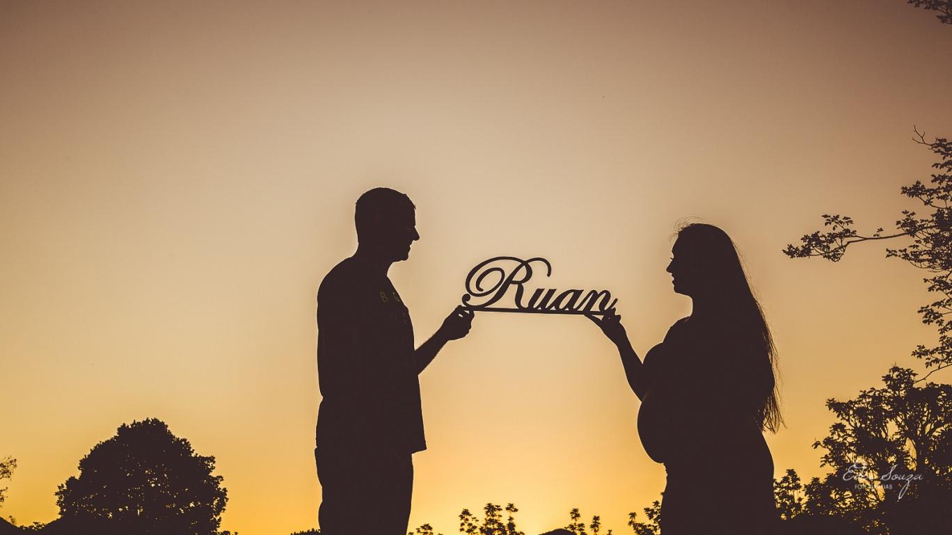 Ensaio de Gestante Daniela e Rafael a Espera de Ruan